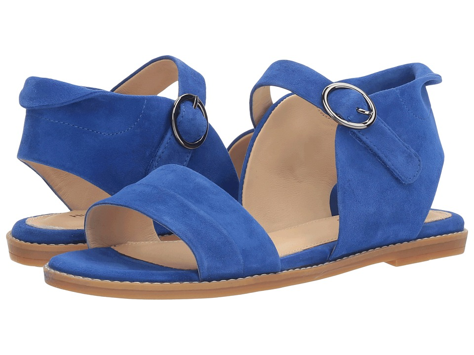 Hush Puppies - Abia Chrissie VL (Cobalt Suede) Women's Sandals