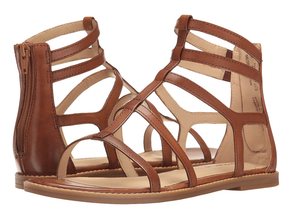 Hush Puppies - Abney Chrissie Lo (Tan Leather) Women's Sandals
