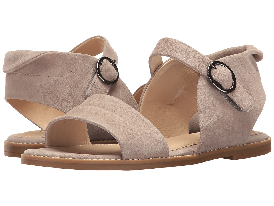 Hush Puppies - Abia Chrissie VL (Light Taupe Suede) Women's Sandals