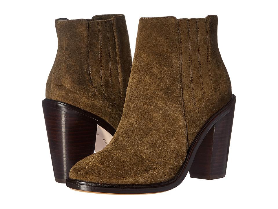 Joie - Cloee (Deep Olive) Women's Zip Boots