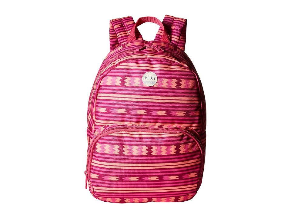 Roxy - Always Core Girl Backpack (Coastline Cruisin' Fuchsia) Backpack Bags