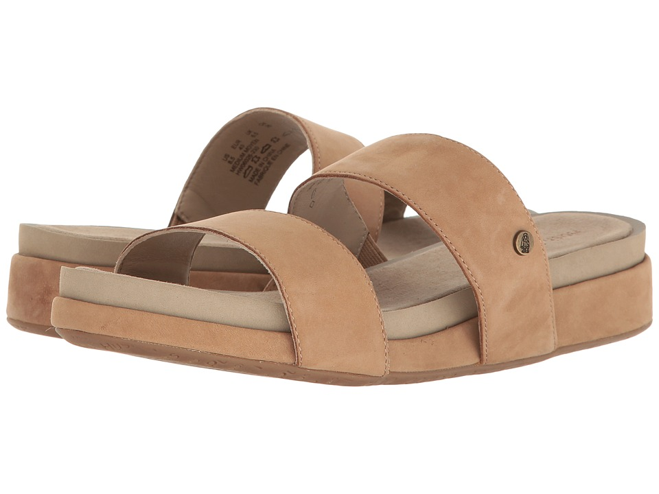 Hush Puppies - Gallia Chrysta (Light Tan Nubuck) Women's Sandals