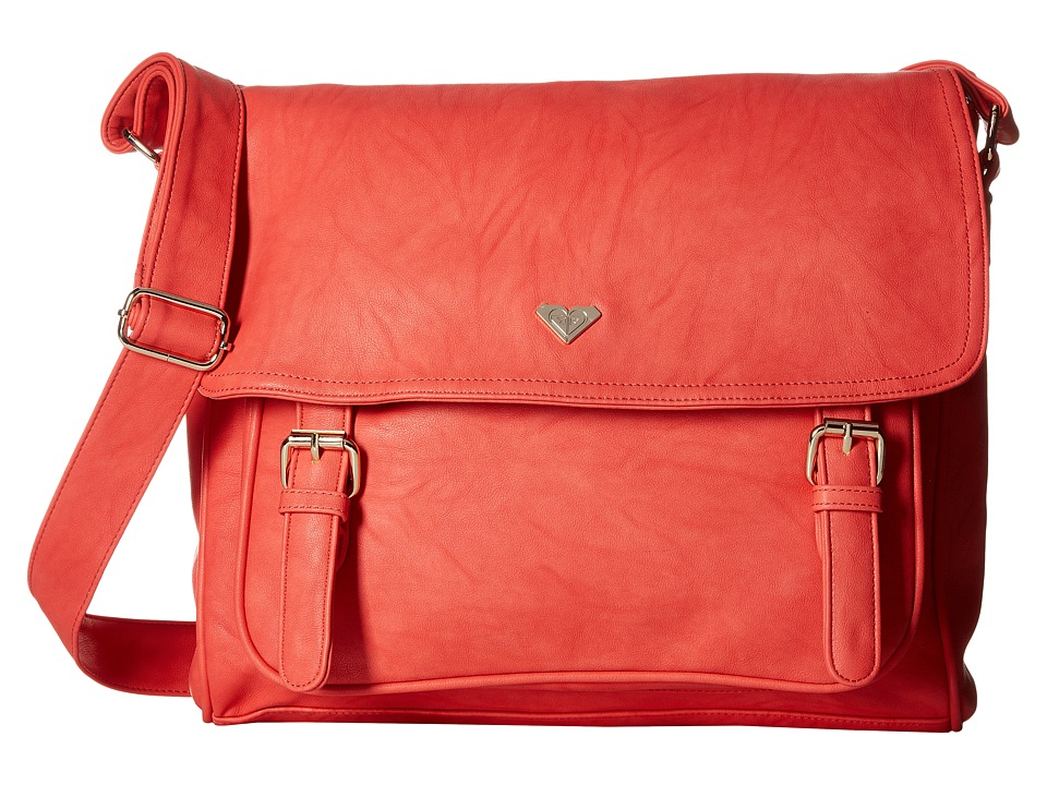 Roxy - Schoolie Bag Messenger Bag (Sunset Red) Messenger Bags