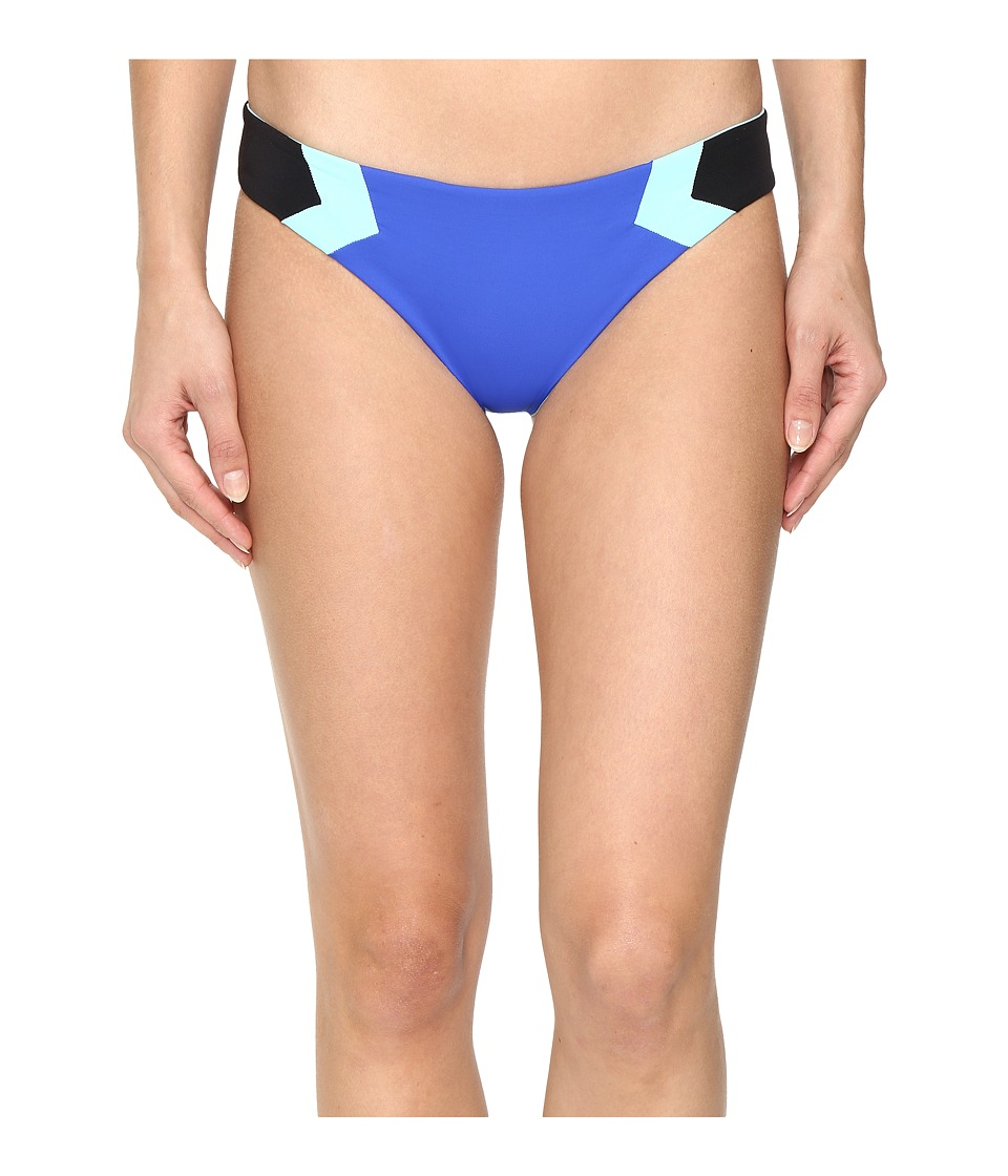 L*Space Color Block Barracuda Classic Bottom (Royal) Women