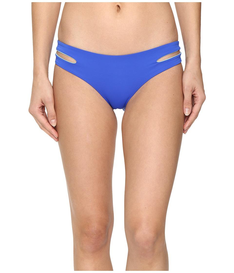 L*Space - Color Block Estella Classic Bottom (Royal) Women's Swimwear