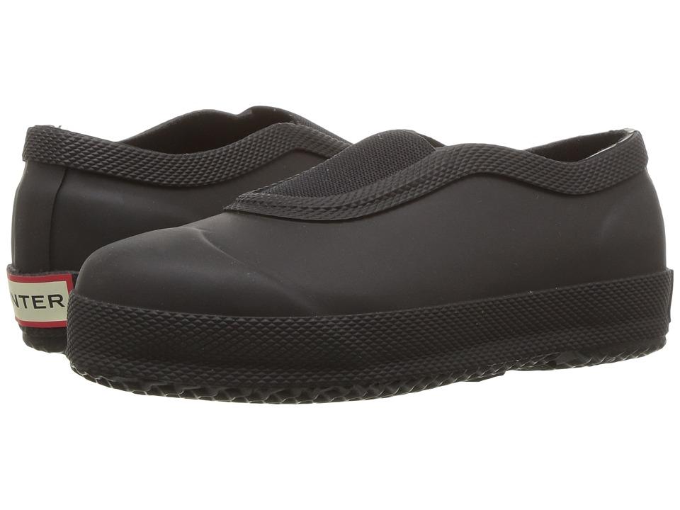 Hunter Kids - Original Plimsole (Toddler/Little Kid) (Black) Kids Shoes