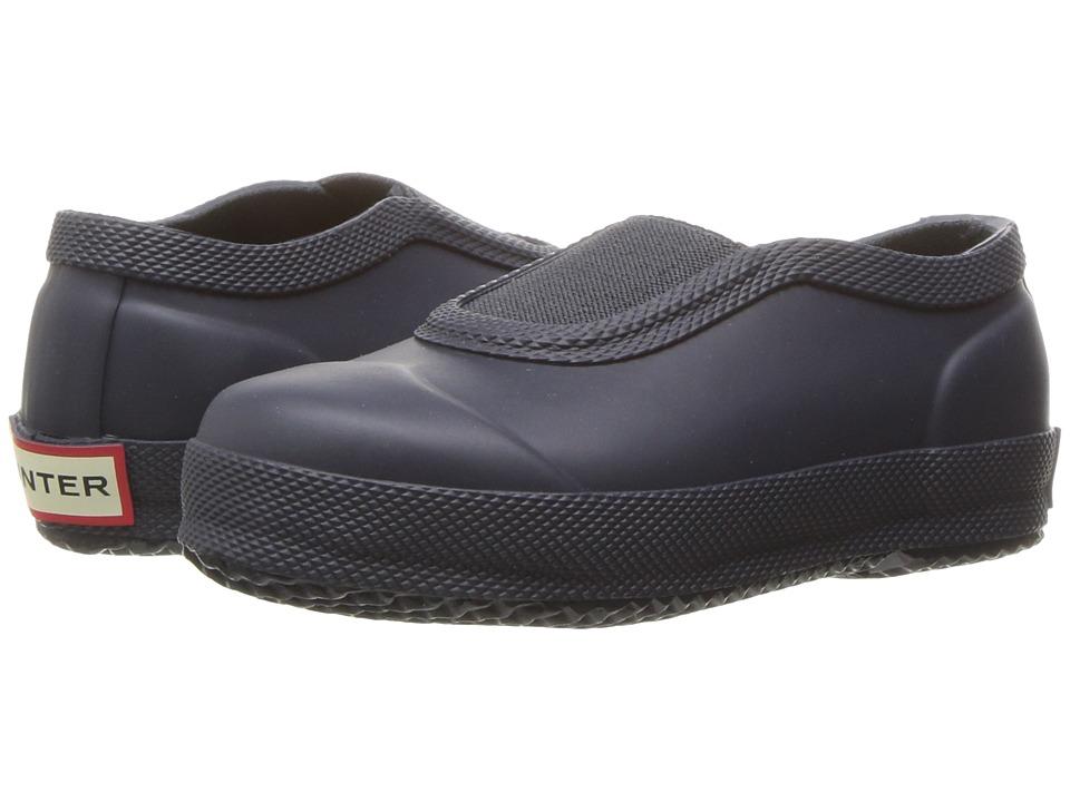 Hunter Kids - Original Plimsole (Toddler/Little Kid) (Navy) Kids Shoes