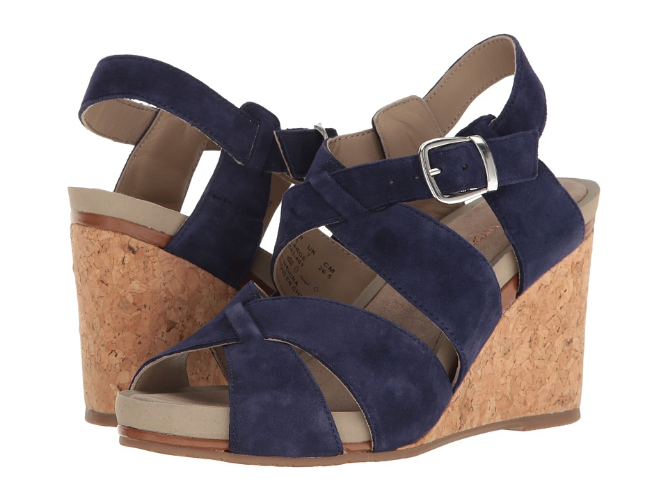 Hush Puppies Fintan Montie (Royal Navy Suede) Women