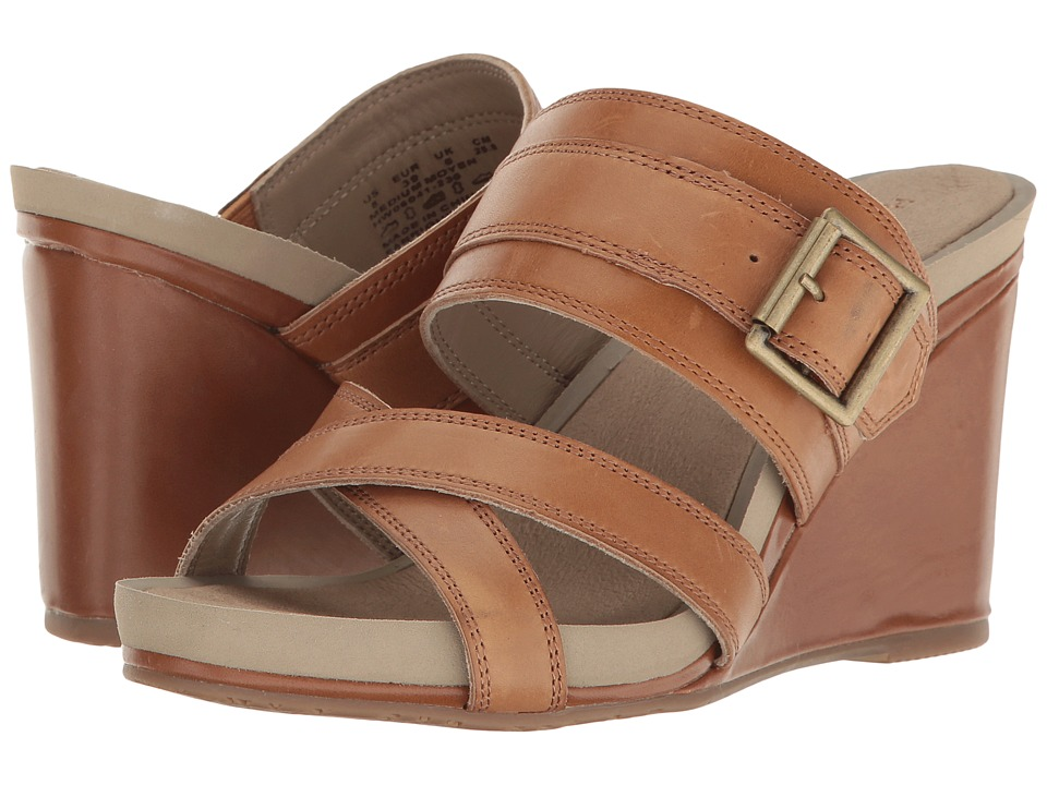 Hush Puppies Finola Montie (Tan Leather) Women