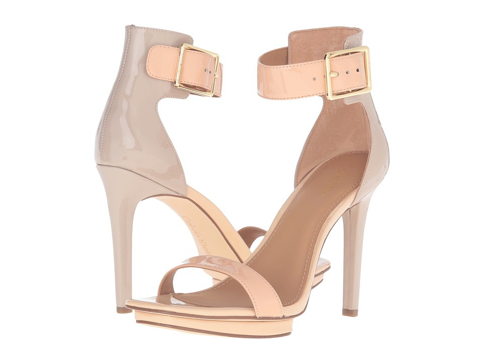 Calvin Klein - Vable (Blush Nude/Cocoon) Women's Shoes