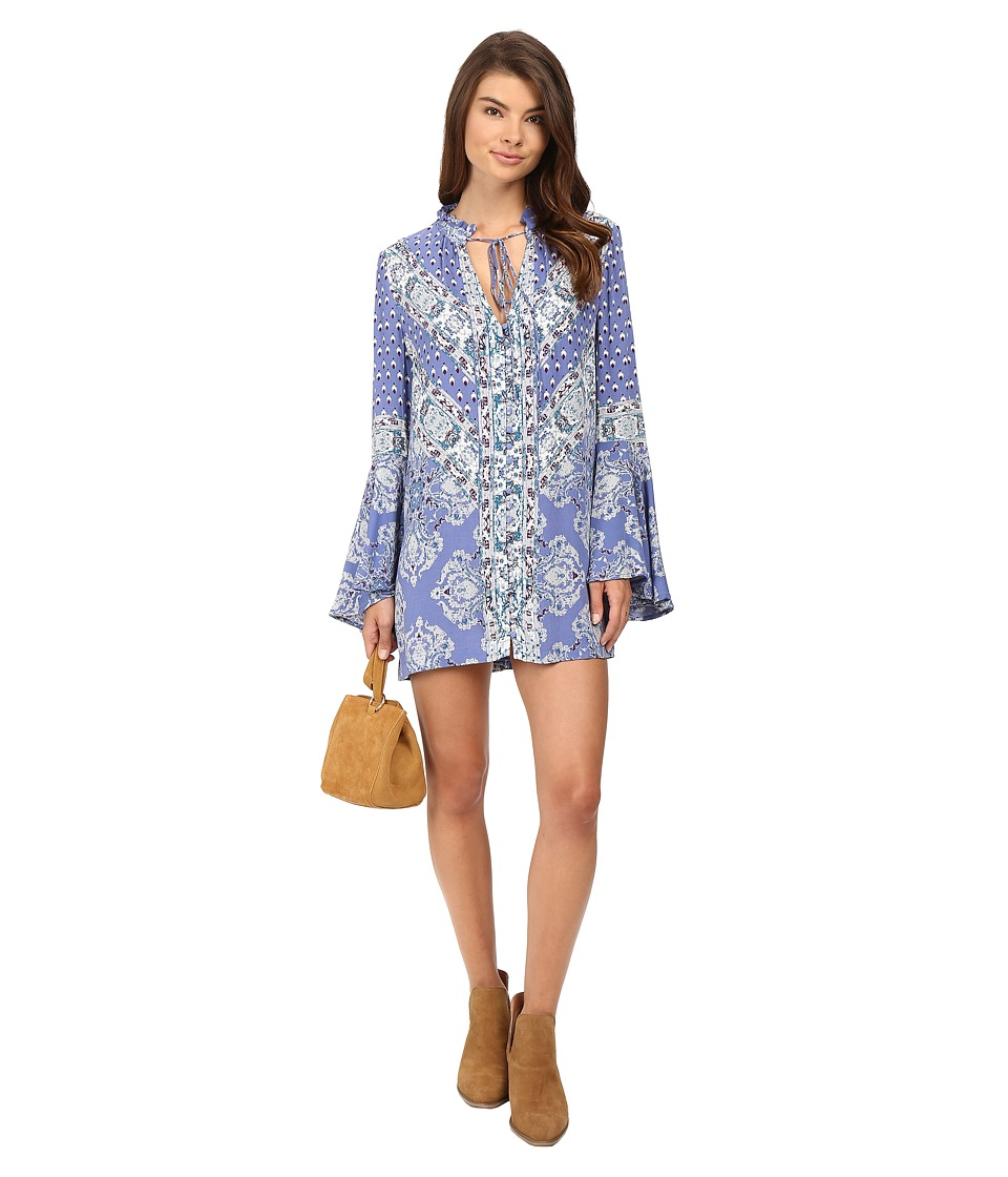 Free People - Magic Mystery Tunic (Sky) Women's Clothing