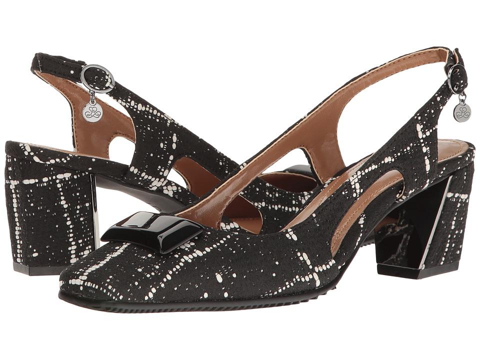 J. Renee - Samina (Black/White) Women's Shoes