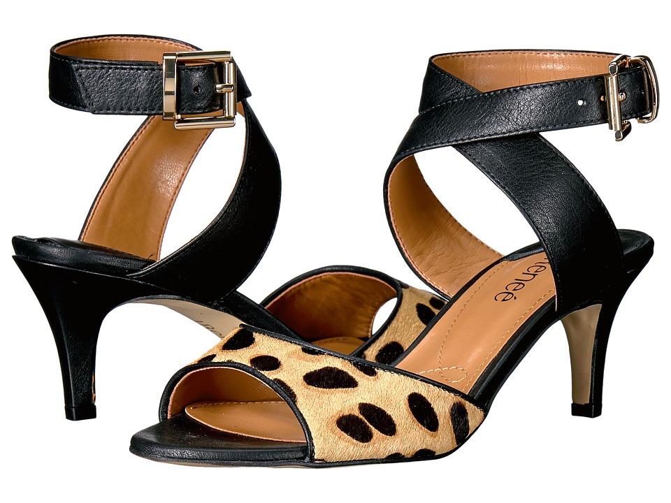 J. Renee - Soncino (Brown/Black) Women's Shoes