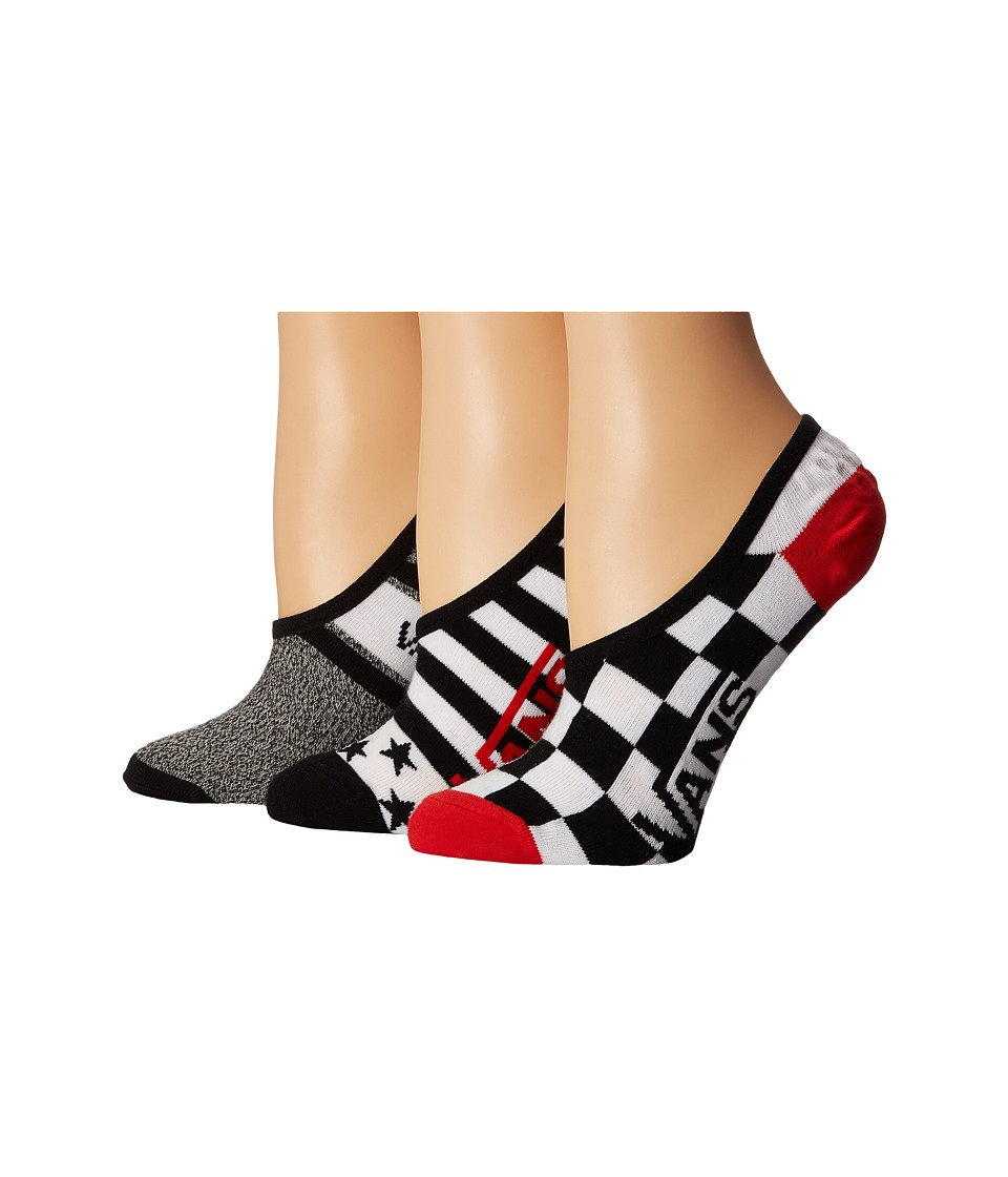 Vans - Shadow Squad Canoodles 3-Pack (Multi) Women's Crew Cut Socks Shoes