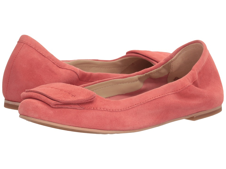 Hush Puppies - Livi Heather (Coral Suede) Women's Flat Shoes