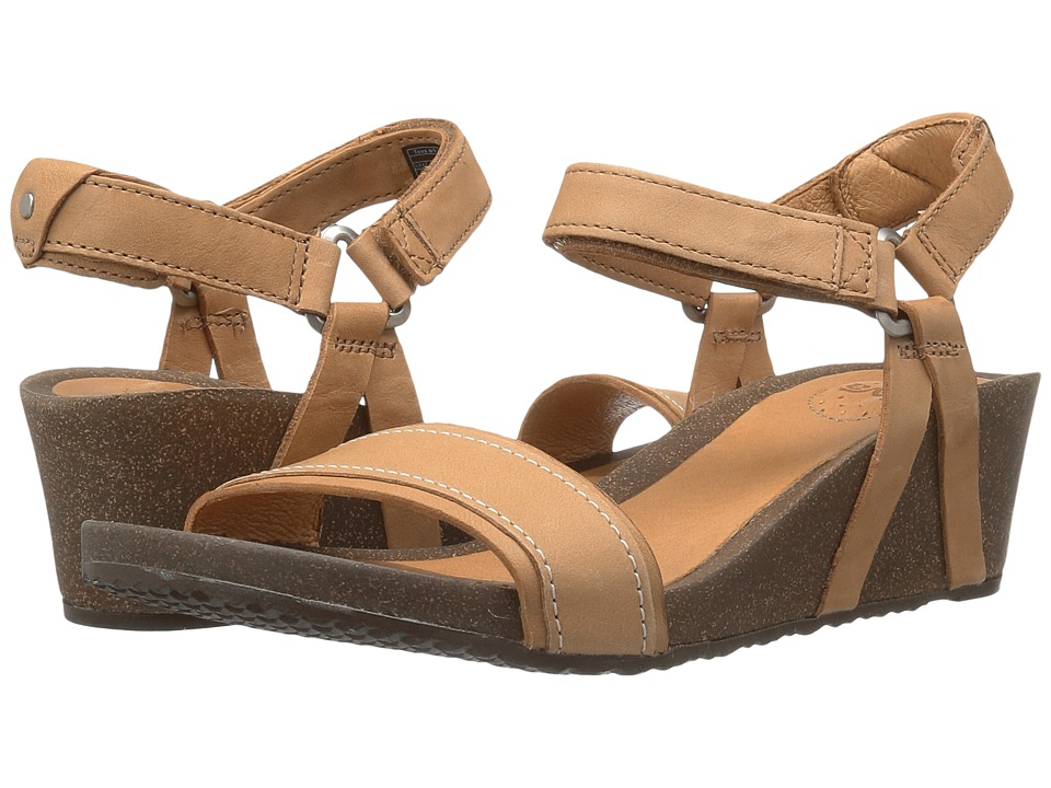 Teva Ysidro Stitch Wedge (Tan) Women