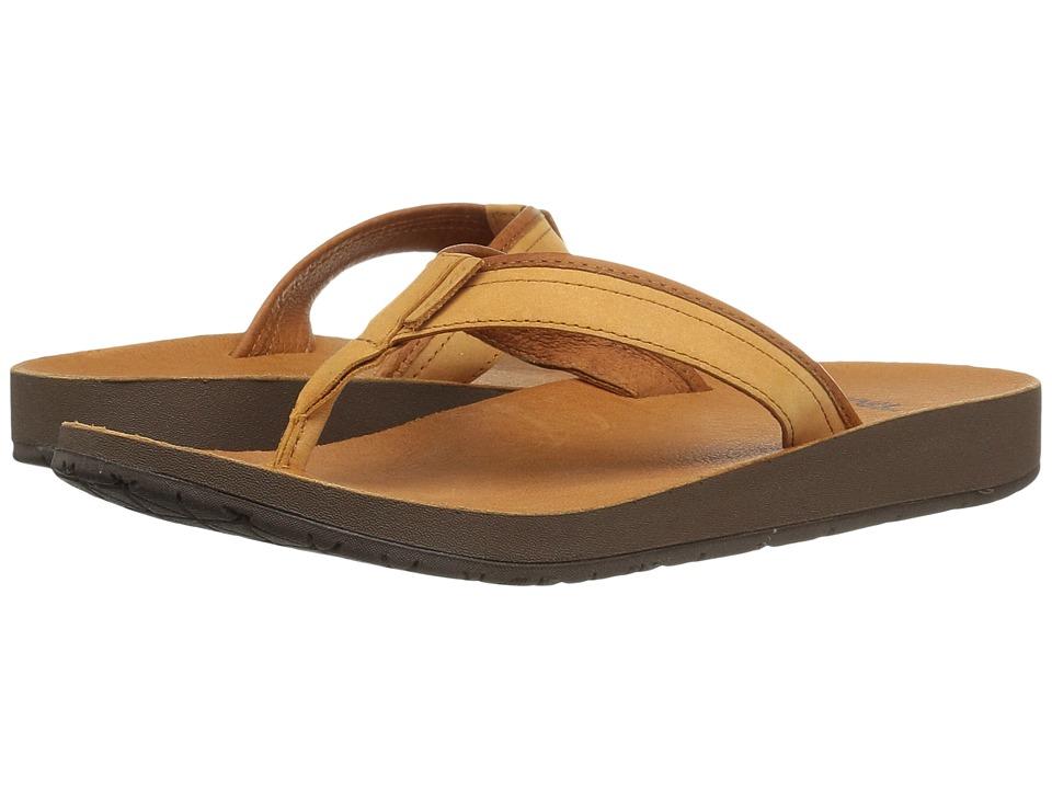 Teva - Azure Flip Leather (Tan) Women's Sandals
