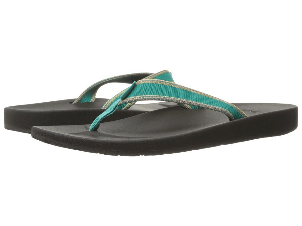 Teva - Azure Flip (Raya Teal) Women's Sandals