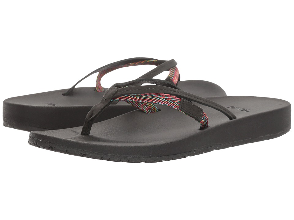 Teva Azure 2 Strap (Black Multi) Women