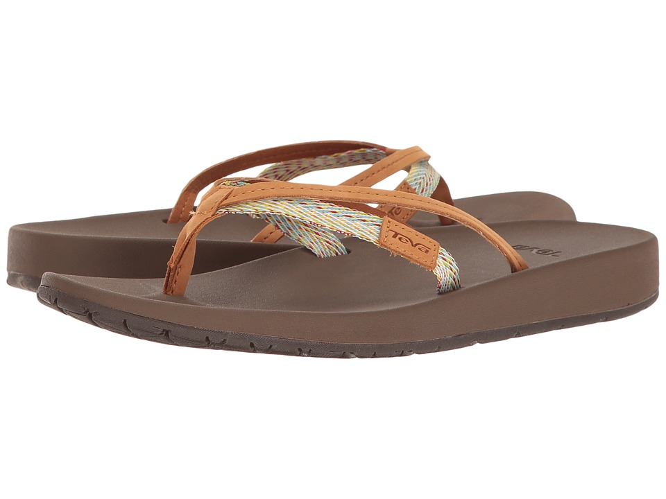 Teva - Azure 2 Strap (Tan Multi) Women's Sandals