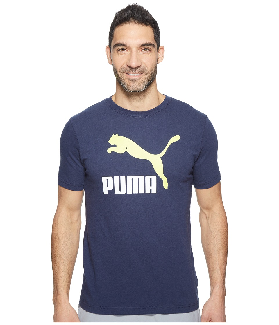 PUMA - Archive Life Tee (Peacoat) Men's T Shirt