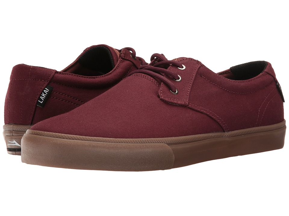 Lakai - Daly (Mahogany Canvas) Men's Shoes