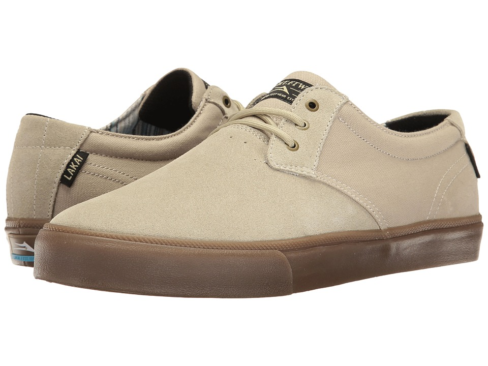 Lakai - Daly (Tan Suede) Men's Shoes