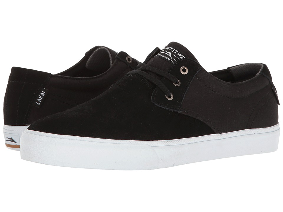 Lakai - Daly (Black Suede) Men's Shoes