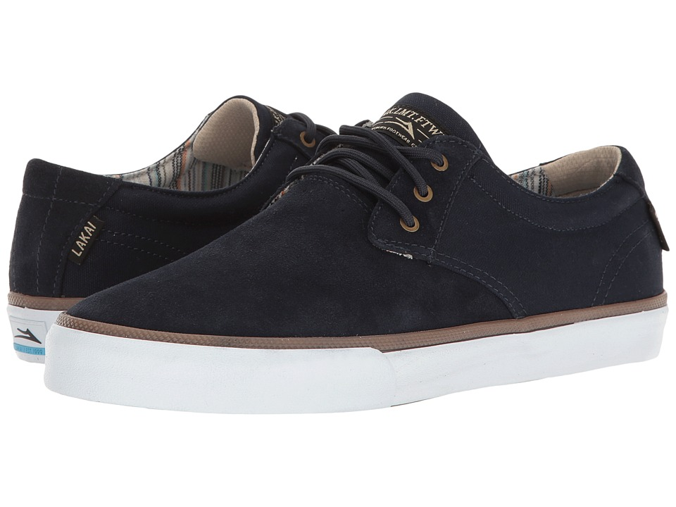 Lakai - Daly (Navy Suede) Men's Shoes