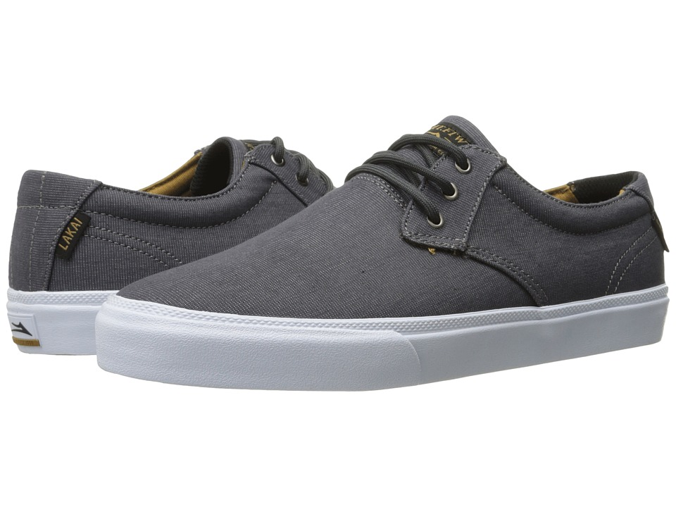 Lakai - Daly (Charcoal Textile) Men's Shoes