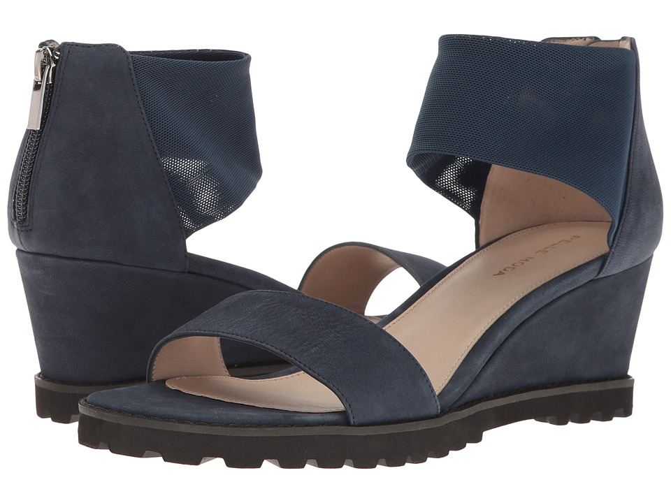 Pelle Moda - Ricki (Midnight Nubuck) Women's Sandals