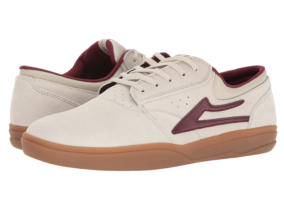 Lakai - Griffin XLK (Stone Suede) Men's Skate Shoes