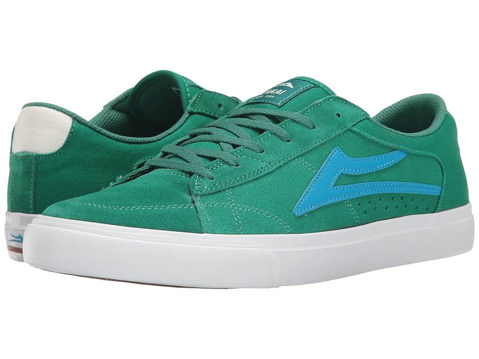 Lakai - Ellis (Green Suede) Men's Shoes