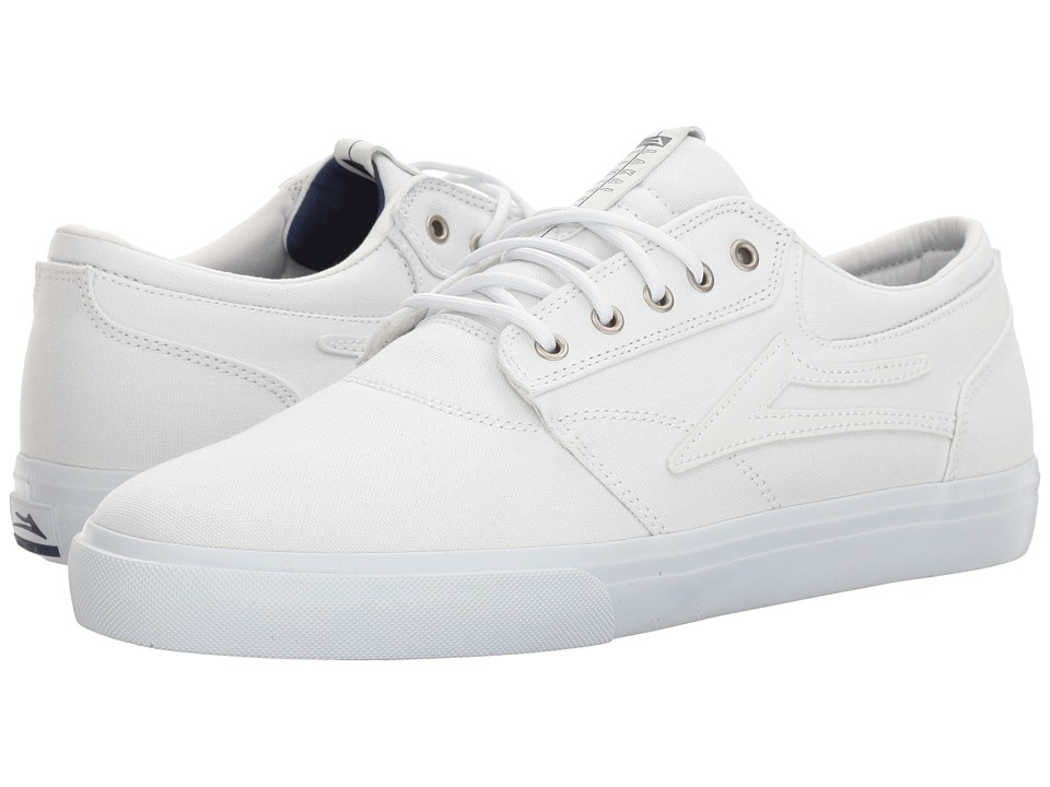 Lakai - Griffin (White Canvas) Men's Skate Shoes