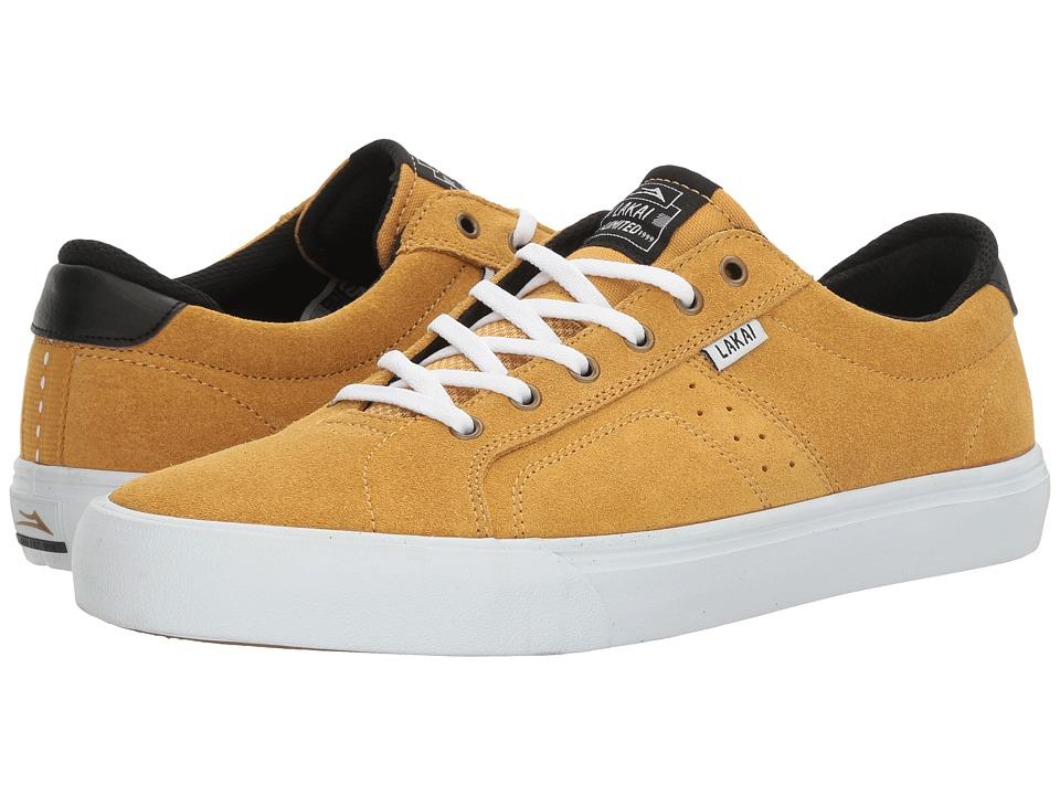 Lakai - Flaco (Gold Suede) Men's Skate Shoes