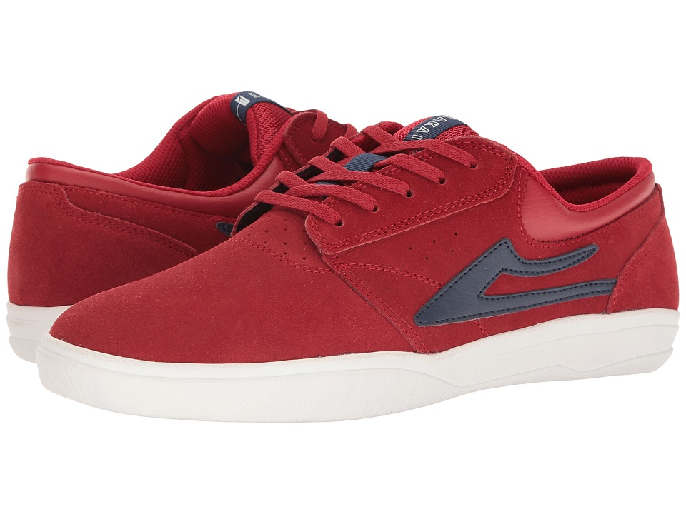 Lakai Griffin XLK (Red Suede) Men