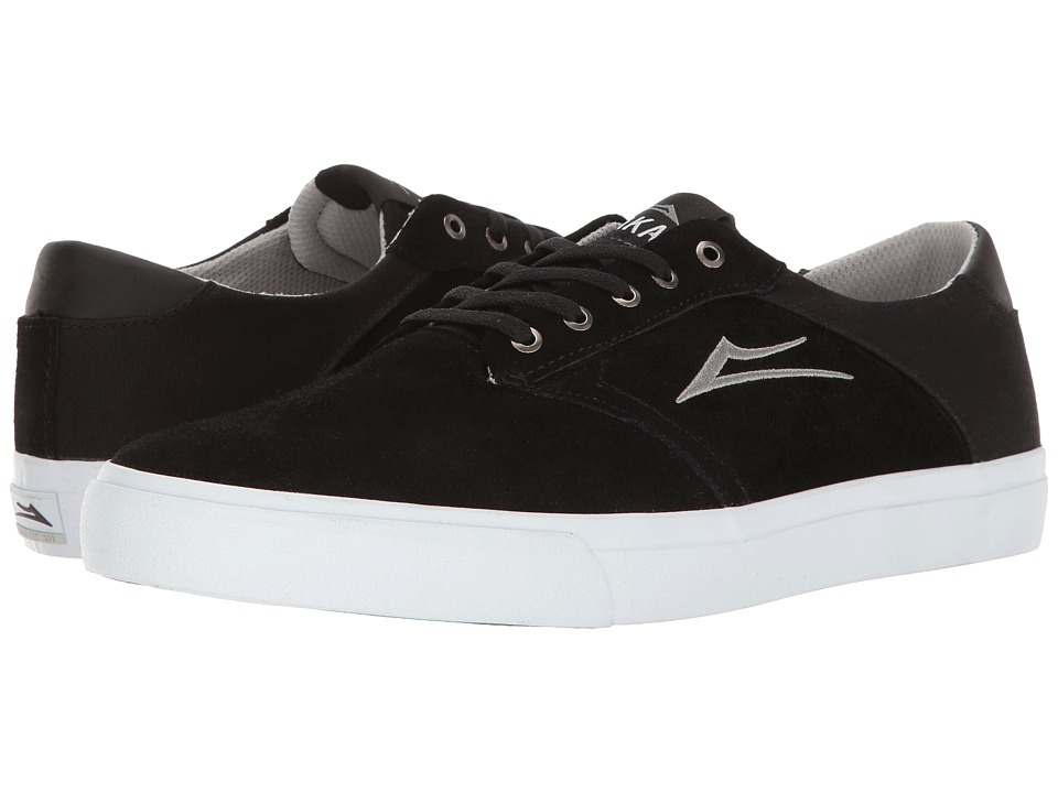 Lakai - Porter (Black Suede) Men's Shoes