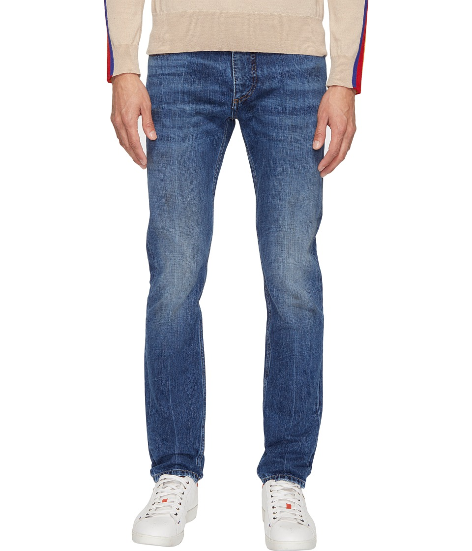 Marc Jacobs - Skinny Leg Slim Fit 17 Jeans (Indigo) Men's Jeans