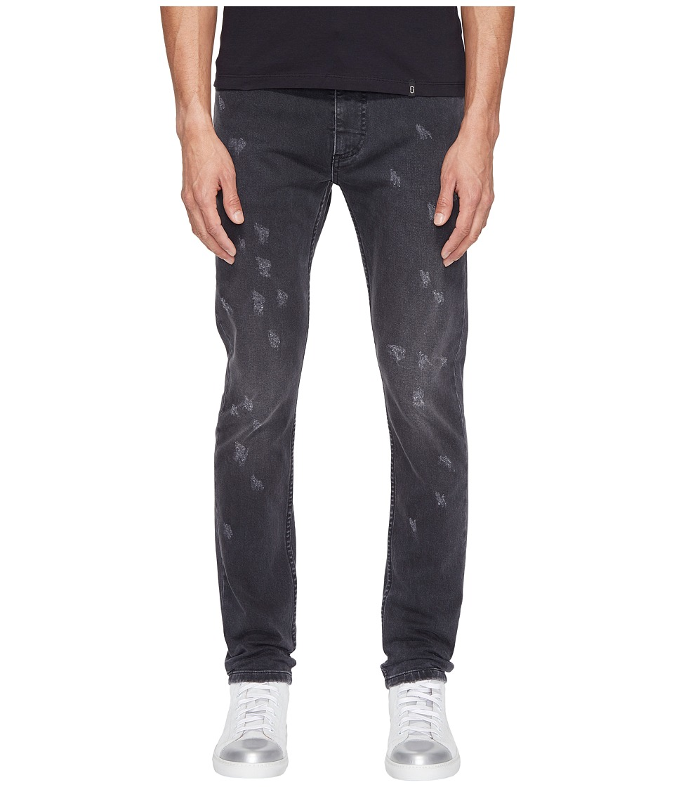 Marc Jacobs - Skinny Leg Destruction Jeans (Black) Men's Jeans