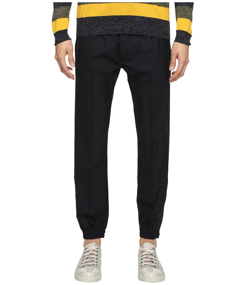 Marc Jacobs - Suiting Jogging Pants (Black) Men's Casual Pants