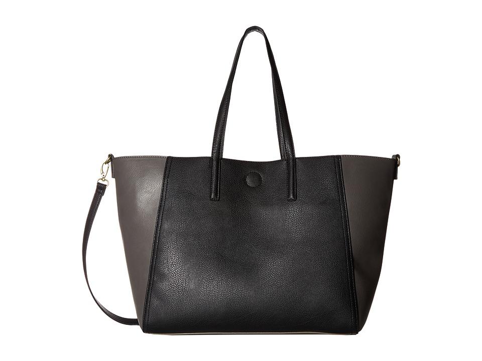 CARLOS by Carlos Santana - Lulu Tote (Black/Charcoal) Tote Handbags