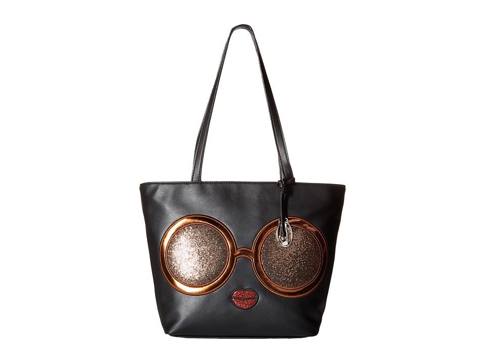 CARLOS by Carlos Santana - Novelty Small Tote (Black) Tote Handbags