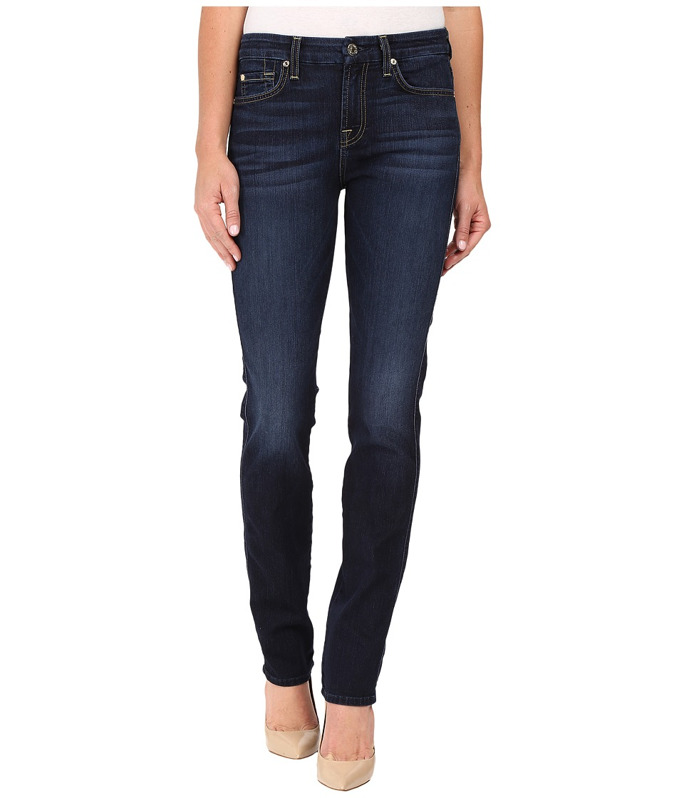7 For All Mankind - Kimmie Straight in Dark Canterbury (Dark Canterbury) Women's Jeans