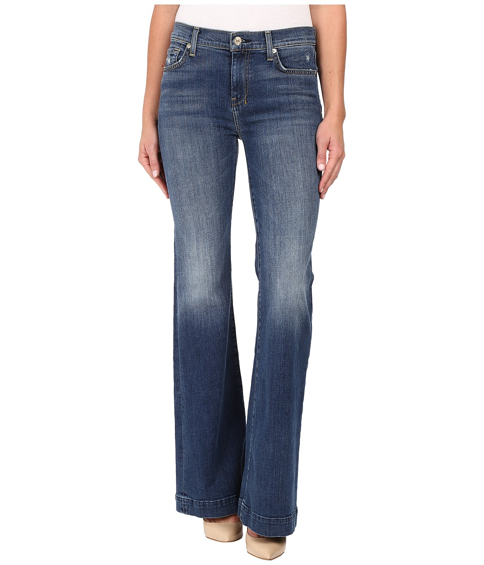 7 For All Mankind - Dojo w/ Tonal 7 Back Pocket in Manchester Square (Manchester Square) Women's Jeans
