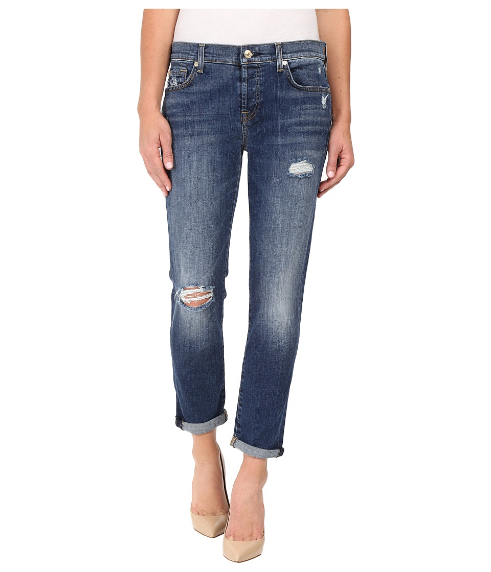 7 For All Mankind - Josefina w/ Destroy in Manchester Square 2 (Manchester Square 2) Women's Jeans