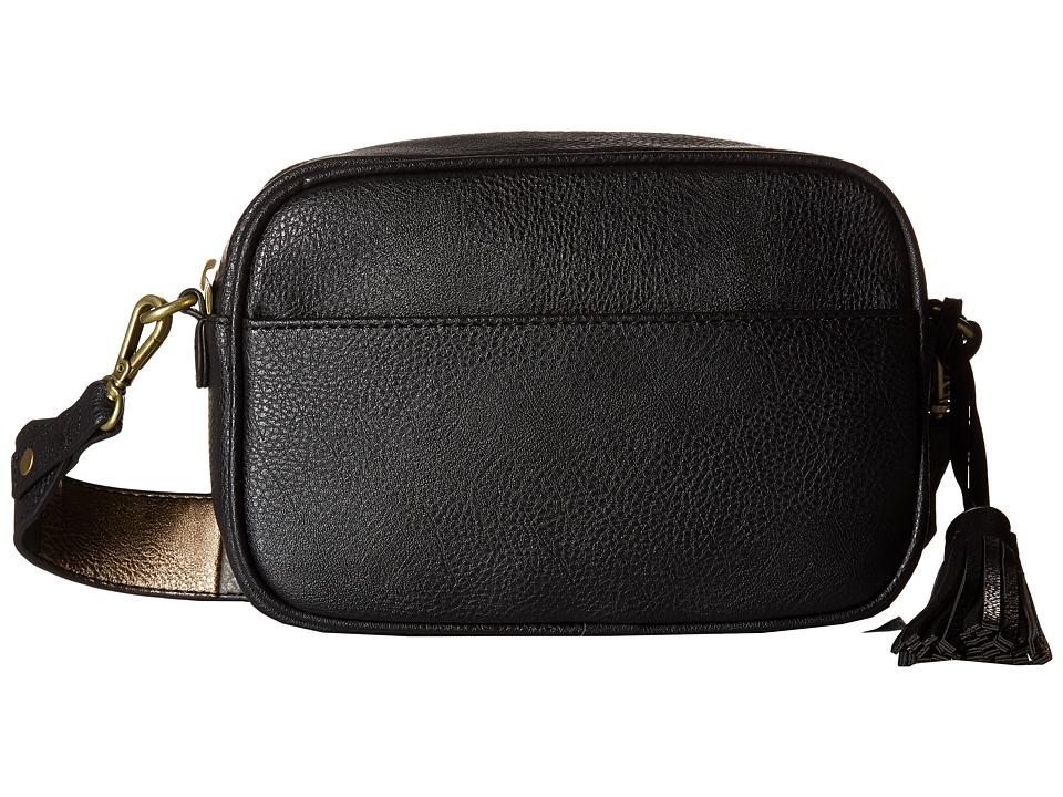 CARLOS by Carlos Santana - Libra Camera Bag (Black/Patchwork) Bags