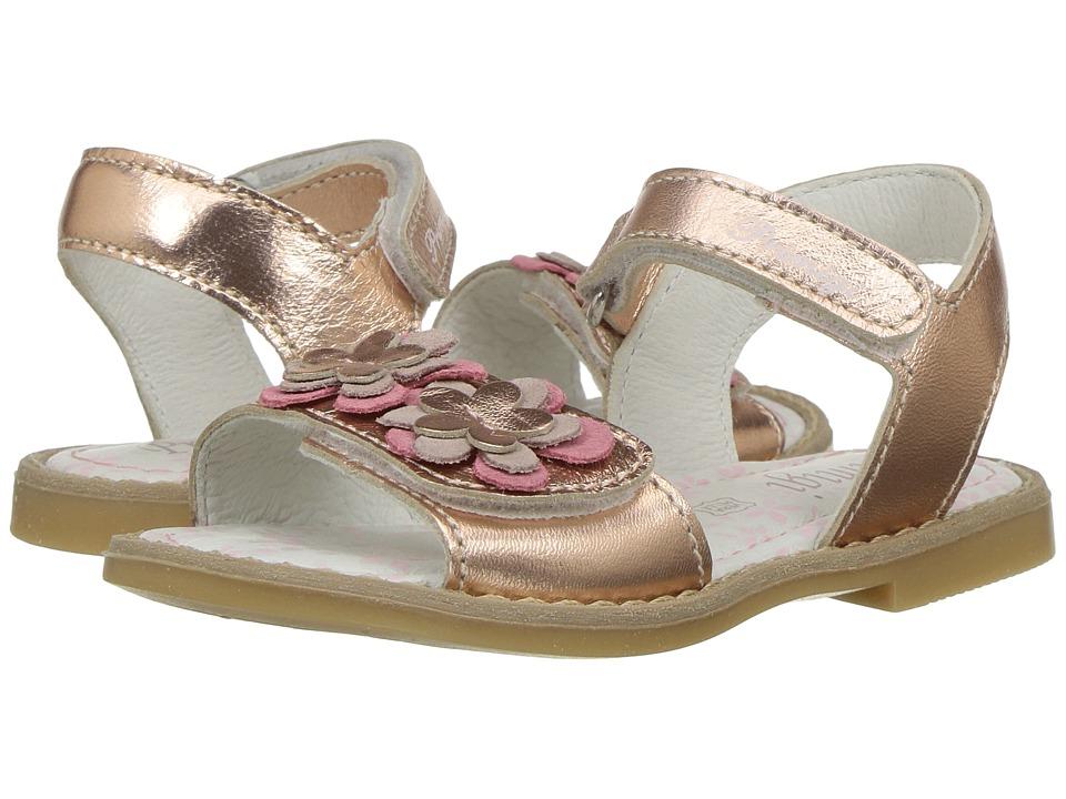 Primigi Kids - PHD 7097 (Toddler) (Rose Gold) Girl's Shoes