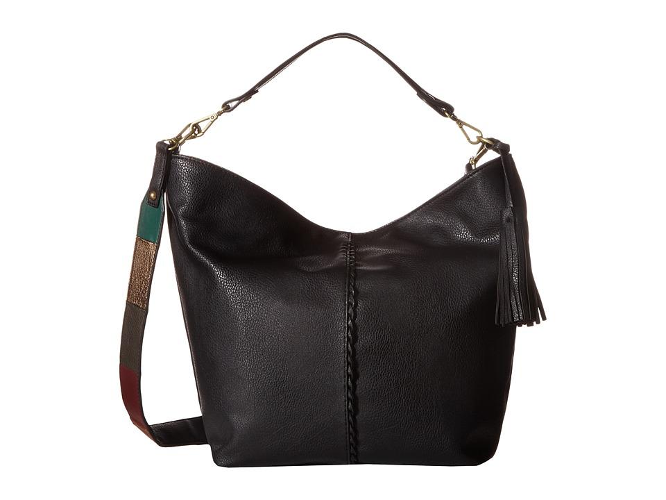 CARLOS by Carlos Santana - Libra Bucket (Black/Patchwork) Bags