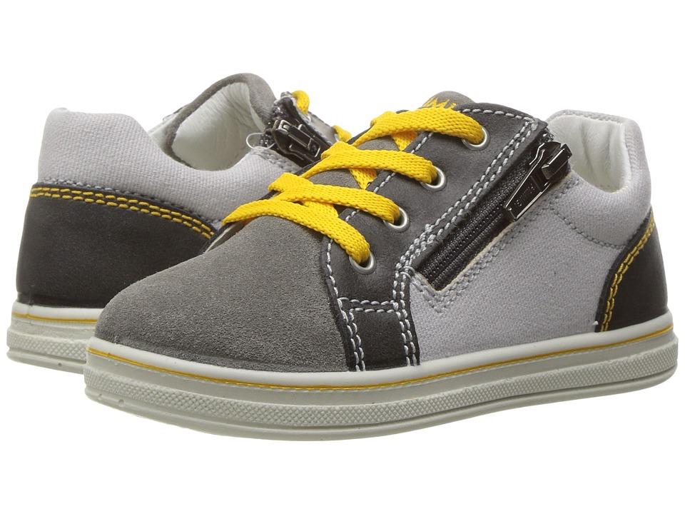 Primigi Kids - PBA 7539 (Infant/Toddler) (Grey) Boy's Shoes