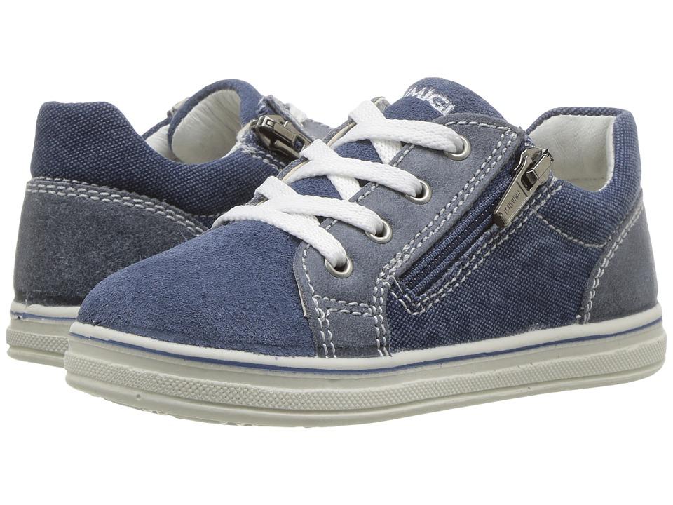 Primigi Kids - PBA 7539 (Infant/Toddler) (Blue) Boy's Shoes
